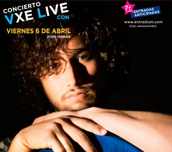James Mcfly se une al cartel del Concierto VXE del 6 de Abril
